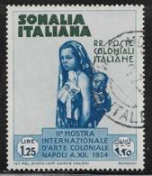 Somalia Scott # 169 Used Mother And Child, 1934, CV$34.00 - Somalia