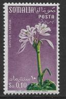 Somalia Scott # 217 Mint Hinged Flower, 1959 - Somalia