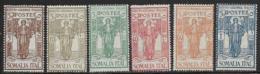 Somalia Scott # B11-6 MNH (#B11 And B14 Are Mint Hinged) Set Colonial Institute Issue, 1926 - Somalia