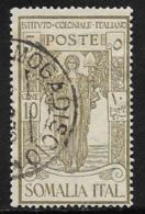 Somalia Scott # B11 Used Colonial Institute Issue, 1926 - Somalia