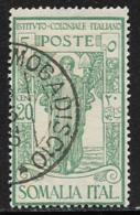 Somalia Scott # B13 Used Colonial Institute Issue, 1926 - Somalia