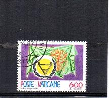 VATICANO 1981 SASSONE 696 USATO - Vatican