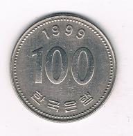 100 WON  1999 ZUID KOREA /1534/ - Corée Du Sud
