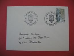 Lettre  Journée Du Timbre  1978  Oloron Ste Marie - Lettres & Documents