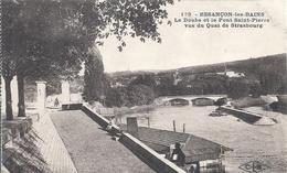 DOUBS - 25 - BESANCON - Doubs Et Pont Saint Pierre Depuis Le Quai De Strasbourg - Besancon