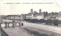 DOUBS - 25 - BESANCON - Pont Battant - Quais De Sytasbourg Et Veil Picard - Besancon