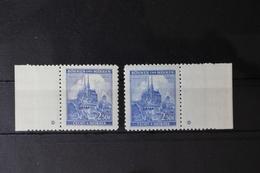 Böhmen Und Mähren 71a Pl.-St. Links+Rechts ** Postfrisch #RH721 - Böhmen Und Mähren