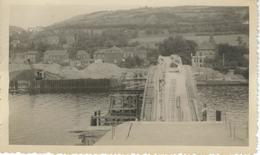 OMBRET RAUSA : TRES RARE CARTE PHOTO - Reconstruction Du Pont - Amay