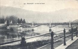 DOUBS - 25 - BESANCON - Le Pont De Canot - Besancon
