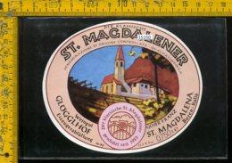 Etichetta Vino Liquore St. Magdalener - Bolzano - Altri