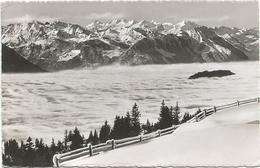 W1272 Blick Vom Rigi Auf Nebelmeer - Unterwaldner Und Berneralpen / Viaggiata 1956 - SZ Schwyz