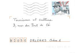 3554 MILAN RASTISLAV STEFANIK Seul Sur Lettre - Marcophilie (Lettres)