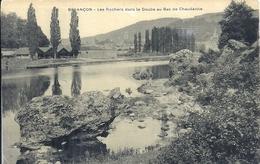 DOUBS - 25 - BESANCON - Les Rochers Dans Le Doubs Au Bas De Chaudanne - Besancon