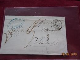Lettre De 1849 Au Depart De Beaune A Destination De Seurre - 1801-1848: Précurseurs XIX