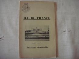 Livre Dépliant Touristique -Touring Club De Belgique 1952 - ILE DE FRANCE ( France ) ST GERMAIN RUEIL CHARTRES NANGIS - Dépliants Touristiques