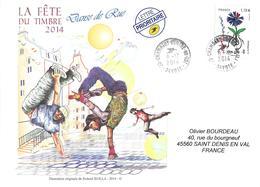 4907 - BLEUETS DE FRANCE Sur Lettre Au 8-12-2014 - Marcophilie (Lettres)