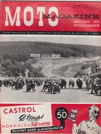 MOTO MAGAZINE 1959 FRANCORCHAMPS Vespa  Zundapp BSA - Livres, BD, Revues