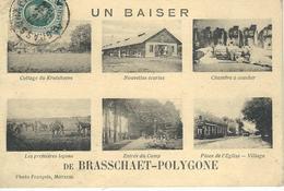 Un Baiser De BRASSCHAET BRASSCHAAT-POLYGONE - Cachet De La Poste 1924 - Brasschaat