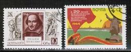 RU 1964 MI 2904-05 USED - Oblitérés