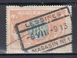 Tr 32 Gestempeld Lessines Magasin N°1 - Chemins De Fer
