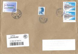 5273 PÉRIGUEUX En Paire Sur Lettre Au 17-12-2018 - Marcophilie (Lettres)