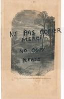 Page Pris Dans Un Guide De 1885 Ruines De L'abbaye Enlevée Aux Anglais Par Duguesclin / Vison Du Jeune Guerrier - Publicités
