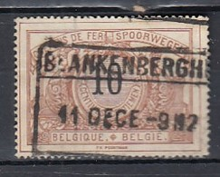Tr 15 Gestempeld Blankenberghe - Chemins De Fer