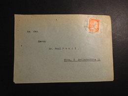 Österreich Mi. 662 Brief Ortspost Wien 23.5.1945 S.scan - Autriche