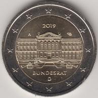 """Moneda 2€ 2019 Alemania """"Bundesrat"""" - Germany"""