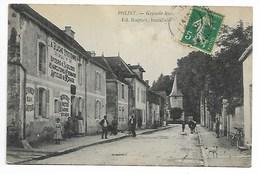 POLISY 1910 La RUCHE TROYENNE épicerie Mercerie AUBE Les Riceys Essoyes Mussy Loches Celles Sur Ource Vendeuvre Troyes - Autres Communes