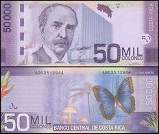 COSTA RICA - 50.000 Colones 02.09.2009 UNC P.279 - Costa Rica
