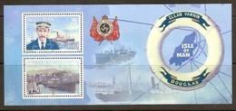 Ile De Man 2009  Yvertn° Bloc 78 *** MNH Cote 12 Euro   Bateaux Boten Ships Ellan Vannin - Man (Ile De)