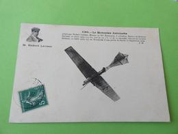 Le Monoplan Antoinette - Hubert Latham - Aviateurs