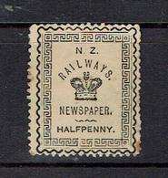 NEW ZEALAND...early Revenue...newspaper - Fiscaux-postaux