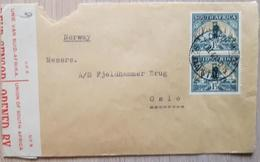 South Africa 1940 Censored Norway Oslo - South Africa (1961-...)