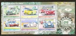 Île De Man  2008 Yvertnr. Bloc 71 *** MNH Cote 12 Euro Automobiles Autos - Man (Ile De)