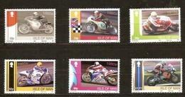 Île De Man 2009  Yvertn° 1563-1568 Micheln° 1534-1539 *** MNH Cote 18 Euro Motocycliste - Man (Ile De)