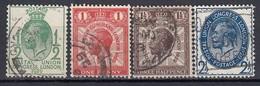 GB 1929 - MiNr: 170 - 173   Used - 1902-1951 (Rois)