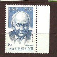France:n°3434  **, Jean Pierre Block - France