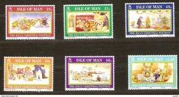 Ile De Man  2008 Yvertn° 1510-1515 *** MNH Cote 15 Euro  Kerstmis Noël Christmas - Man (Ile De)