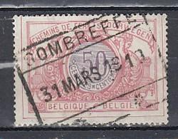 Tr 35 Gestempeld Sombreffe - Chemins De Fer
