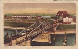 AK Krefelt, Crefeld Uerdingen, Hafenbrücke (pk56273) - Krefeld