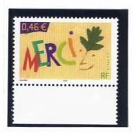 "France 3540 Neuf ** ( ""Timbre De Message ""merci"") Cote 1,00€ - France"