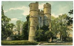 NEWBURY : DONINGTON CASTLE / POSTMARK - WOOLTON HILL (SINGLE CIRCLE) / ADDRESS - RYDE, ST JOHN'S HILL - England
