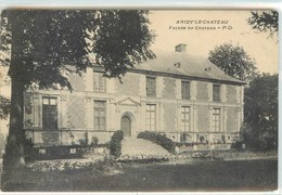 CPA 02 Aisne Anizy Le Chateau Façade Du Chateau - France