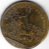 "*    Louis XIV - Jeton De Nuremberg - ""LATE CVNCTA PROFUNDIT""  I.B. - France"