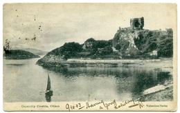 OBAN : DUNOLLY CASTLE / POSTMARK - OBAN / ADDRESS - FALKIRK, GLEBE STREET - Argyllshire