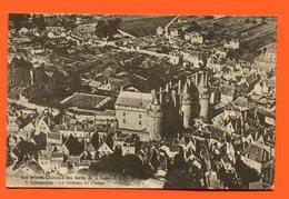 ET/186 LANGEAIS LE CHATEAU  VUE D AVION LES GRANDS CHATEAUX DES BORDS DE LA LOIRE - Langeais