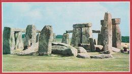 Cromlech De Stonehenge. Angleterre. Encyclopédie De 1970. - Vieux Papiers