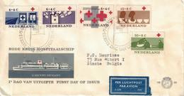 Nederland. FDC. 1963. Thème: Croix-Rouge - FDC